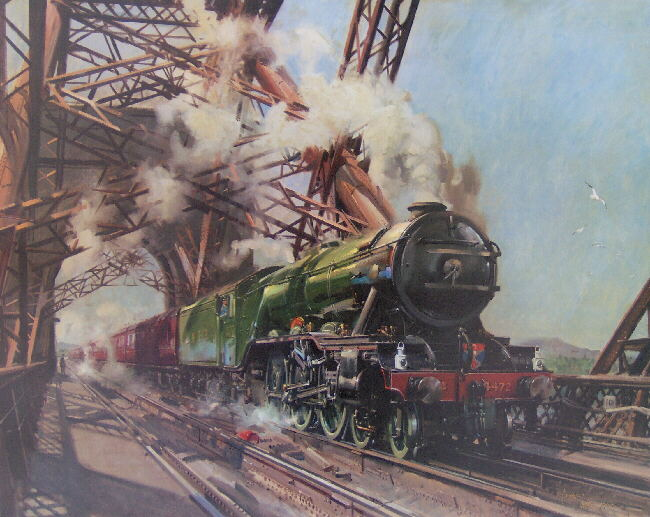 Steam Trains, signed limited editions