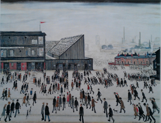 L.S. Lowry,  signed limited editions