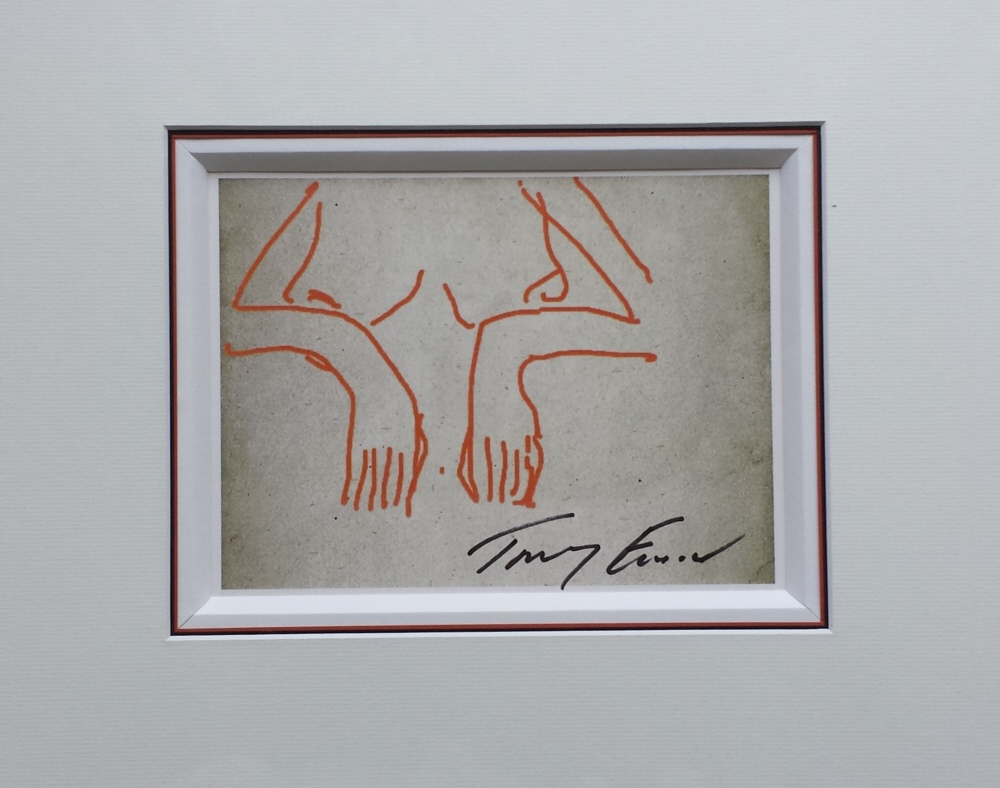 tracey emin signed print